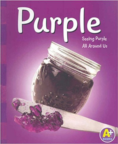 Introduces some common objects that are purple in color including jelly, cabbage, and flowers.
