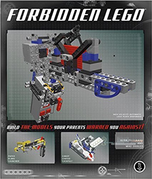 Written by a former master LEGO designer, this full-color book contains projects that break the LEGO Company's rules for building with LEGO bricks--rules against building projects that fire projectiles, cutting or gluing bricks, and using non-standard parts.