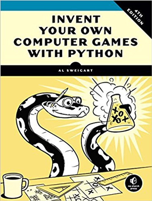 Each chapter introduces a new game as well as step-by-step explanations of how the code works. As you build games like Reversi, Hangman, Tic-Tac-Toe, Dragon Realm, Guess the Number, Jokes, Dodger, Bagels, and Sonar, you'll learn how programmers turn their game ideas into reality. You'll also find chapters on game refinements like collision detection and input, Cartesian coordinates, artificial intelligence simulation, sounds and images, debuggers, and cryptography, to help you take your game programming to the next level.