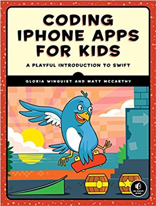 Swift is Apple's popular iOS programming language designed to be beginner-friendly and accessible. Coding iPhone Apps for Kids teaches the fundamentals of programming with Swift and Xcode, the official and free! iOS development environment.