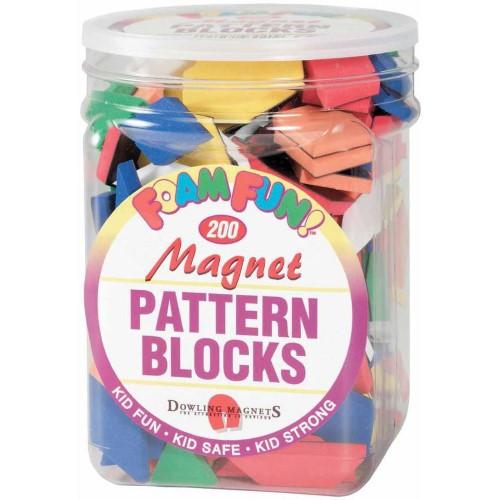 Foam Fun Magnet Pattern Blocks