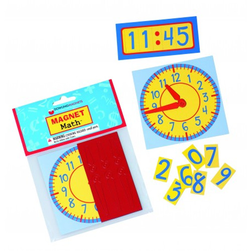 Magnet Math Clocks