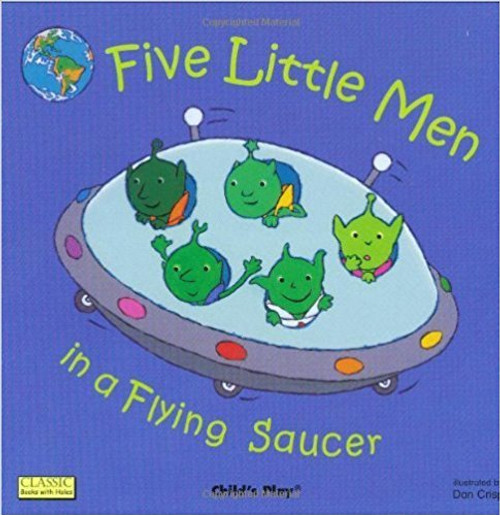 When five little men come to visit Earth from Outer Space, they don't like what they see. Finding a planet that is spoiled and neglected, the little men fly away, one by one. Luckily, by the end of this much-loved counting song, the world becomes a better place to visit - and the five little men may even have had something to do with it!