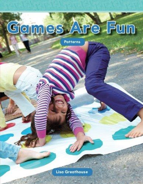 """Discover patterns in everyday games! This charming title helps young readers recognize repeating patterns in common games like checkers, cards, board games, and jacks. Children will enhance their understanding of patterns and early STEM themes with engaging examples and featured """"You Try It"""" problems."""