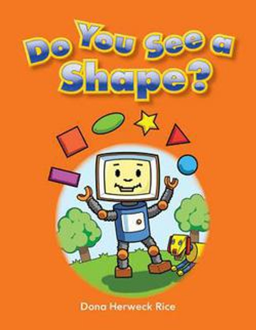 Come along with this adorable robot as he goes through his day and recognizes shapes of all kinds! The bright illustrations and simple text help create an engaging story that provides opportunities for new readers to share what they see and what they learn as they move through the book. Readers will be encouraged to retell what they read and will feel confident in their growing reading skills.