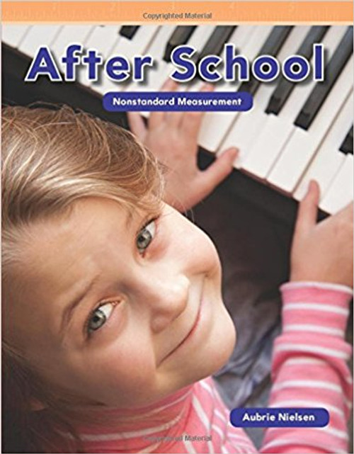 """Learn the basics of nonstandard measurement after school! This book shows young readers that they can measure all sorts of after school activities with nonstandard measurements. A violin is five hands long! A piano is six shoes tall! These fun measurement examples, along with engaging """"You Try It!"""" problems, will encourage children to measure their after school activities and will improve their understanding of early STEM concepts."""