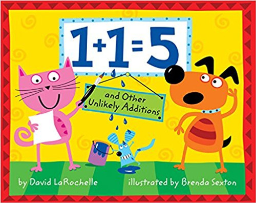 How much is 1+1? Think the answer is 2? Not always, as this playful approach to addition proves. LaRochelle takes children on a joyful mathematical journey that will engage their minds and teach them to think about numbers in a creative way. Full color.