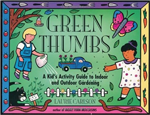 Carlson teaches budding gardeners what it takes to make things grow with fun activities that require only readily available materials.