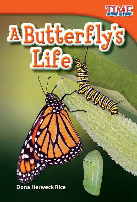 <p>In this engaging nonfiction book, early readers are introduced to the life cycle of a butterfly. Readers will be captivated by the vivid photographs of the butterfly's life, and informative text.</p>