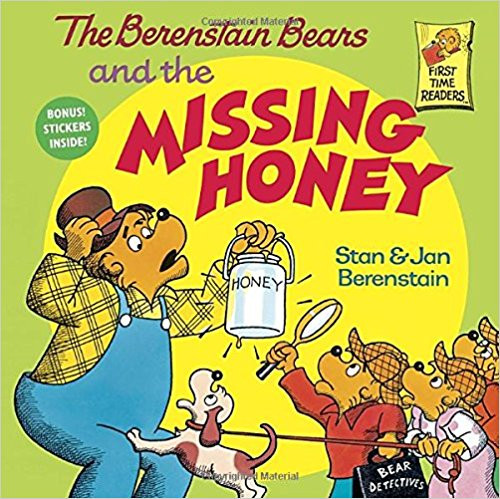 When Papa Bear's favorite blackberry honey disappears, the Bear Detectives--Brother, Sister, Cousin Fred and his sniffer hound Snuff--set out to find the culprit. Full-color illustrations.