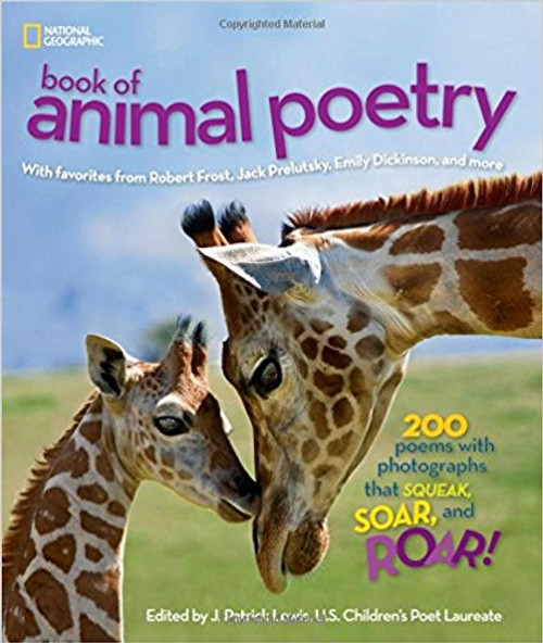 Lovingly selected by U.S. Children's Poet Laureate Lewis and paired with vibrant animal photography, this collection of poems is an exuberant celebration of the animal kingdom and a beautiful introduction to this genre of literature. Full color.