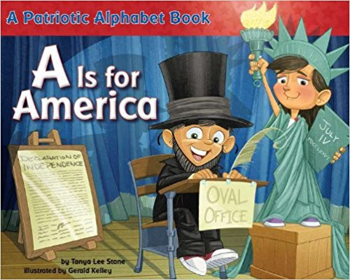 Kids can learn American history in this alphabet book. Rhyming couplets that flow through the alphabet help kids celebrate everything from the Constitution and the Declaration of Independence to Thomas Jefferson and Harriet Tubman. Full color.