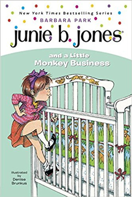 She survived her first day at school (Junie B. Jones and the Stupid Smelly Bus), but will she survive a new baby? Trouble crops up when Junie B. mistakenly thinks her newborn brother is really a baby monkey. Seven-time children's choice award winner Barbara Park keeps those one-liners coming in this First Stepping Stone book. Illustrated.