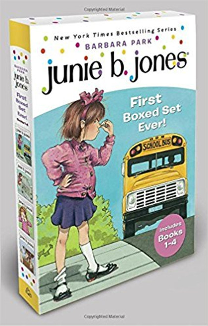 Junie B. Jones--the funniest kindergartner ever--now has her very own boxed set. A great gift for Junie B. fans, or a wonderful introduction for the uninitiated, this collection contains the first four Junie B. Jones books.