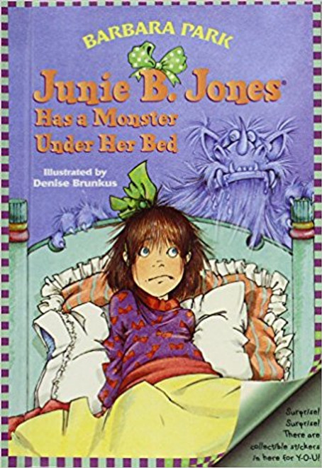 When Paulie Allen Puffer tells Junie B. that there's a drooling monster under her bed, she can imagine the monster creeping onto her pillow at night, putting her head in his mouth. Thanks to Paulie, poor Junie is having her worst-est night ever.