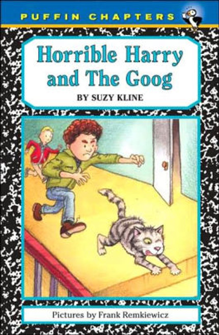 Horrible Harry and Doug plan to find out the reason for a secret party being held in the school library, but when they discover Harry's pet cat, Googer, has hitched a ride to the school in Grandma's truck, they have to catch him before anyone else does. Full color.