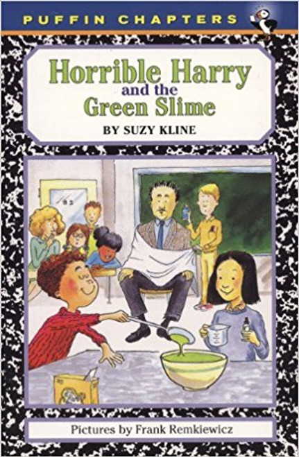 """Harry leads a mission to place cobwebs all over school, shows the class how to make green slime, and stages a """"deadly skit"""" that has everyone on the edge of their seats."""