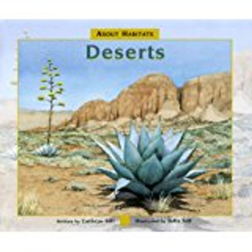 <p>In the first book in the acclaimed About Habitats series, educator and author Cathryn Sill uses simple, easy-to-understand language to teach children what deserts are and what kinds of animals and plants live there. John Sills beautifully detailed paintings reflect the diversity of deserts, from the vast dunes of the Arabian Desert to the rocky Chihuahuan Desert in the southwestern U. S. An afterword provides details on deserts and about the flora and fauna featured in the illustrations.</p>