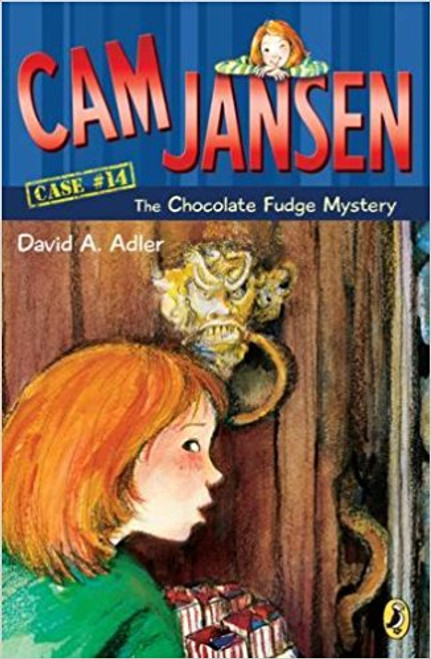 When Cam Jansen and her friend Eric uncover a mystery while selling fudge door-to-door to raise money for the local library, Cam uses her photographic memory to foil a crime.