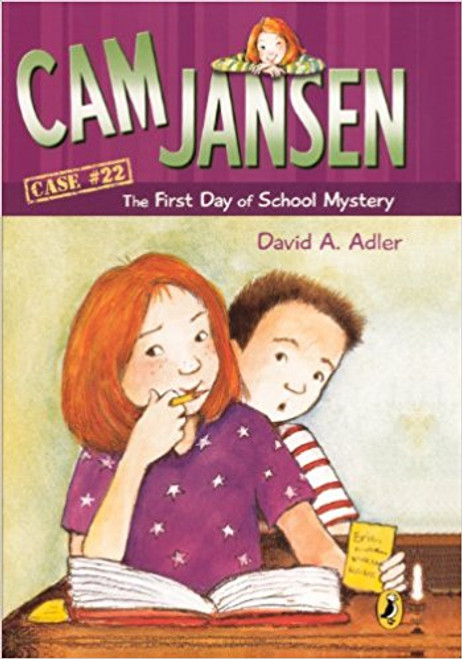 It's the first day of fifth grade and Cam and Eric can't wait to meet their new teacher, Ms. Benson. But the school day is just beginning when a teacher has been arrested. Illustrations.