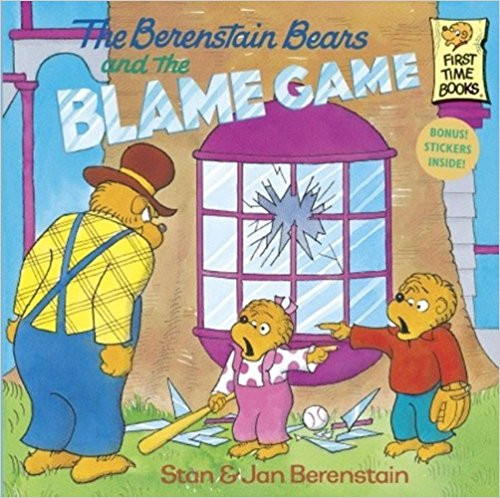 Members of the Bear family try to solve their problems without playing the blame game of arguing over who is responsible for every disaster.