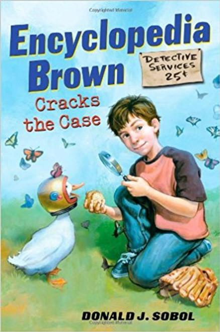 Encyclopedia Brown Cracks the Case by Donald J Sobol