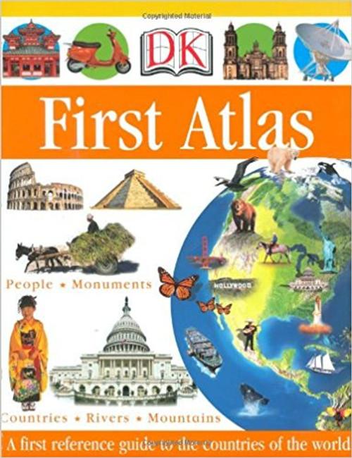 DK First Atlas by Anita Ganeri