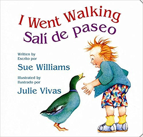 Sali de Paseo (I Went Walking!) by Sue Williams