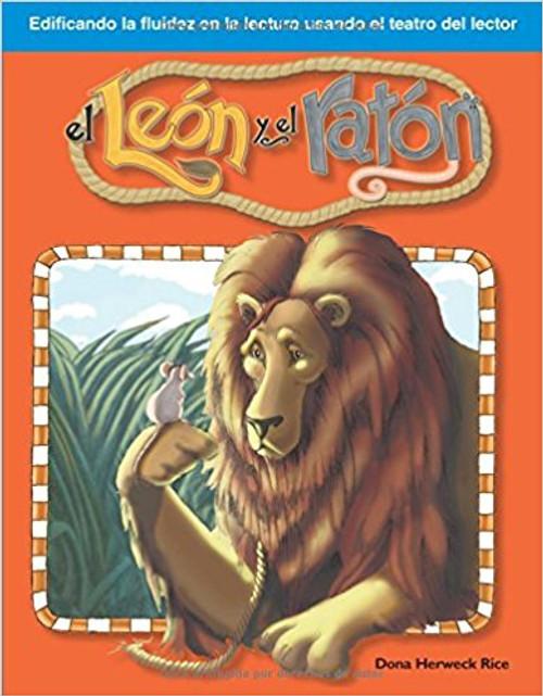 El león y el ratón (The Lion and the Mouse) by Dona Herweck Rice