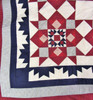"""""""Americana"""" Red-white-blue Quilt - SALE"""