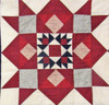 """Americana"" Red-white-blue Quilt - SALE"
