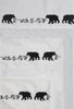 Embroidered Bear Sheets