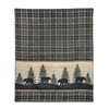 Bear Walk Plaid Throw