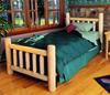 Cedar Log Bed - options available