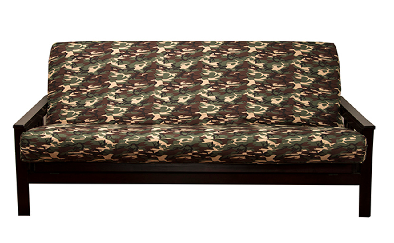 Admirable Futon Cover Galaxy Camo Bralicious Painted Fabric Chair Ideas Braliciousco