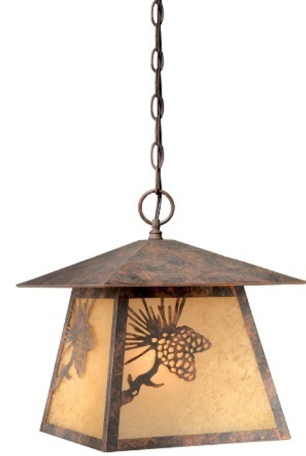 Whitebark Outdoor Hanging Light