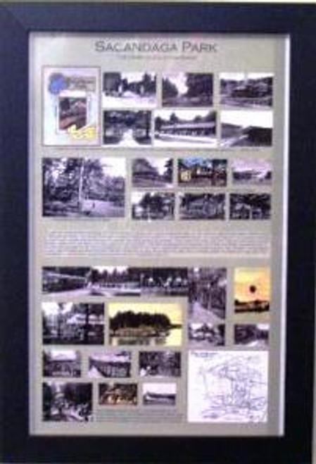 Sacandaga Park Framed