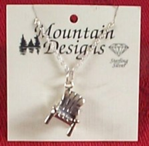Adirondack Chair Necklace