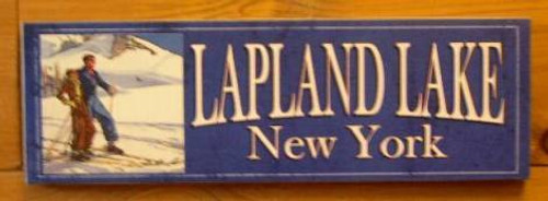 Sign, Lapland Lake
