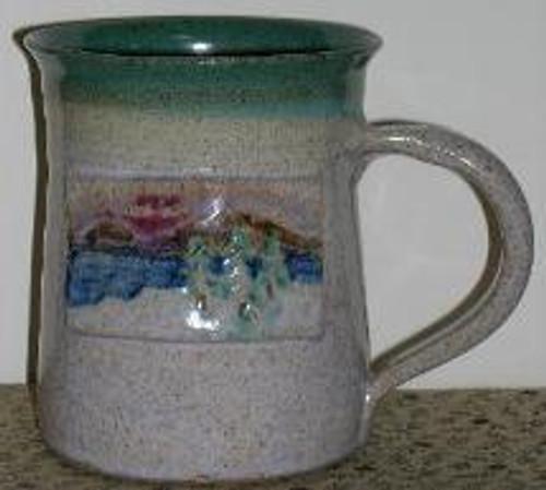 Hand Painted Adirondack Lake Mug