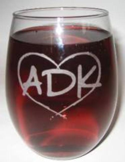 Adirondack Stemless Wine Glass