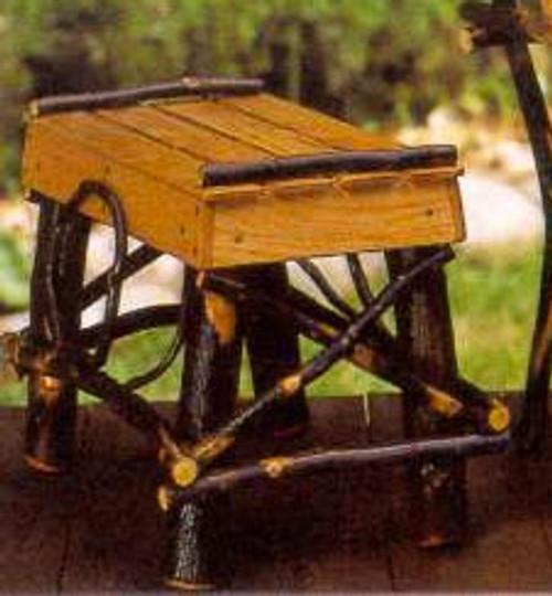 Hickory & Oak Foot Stool