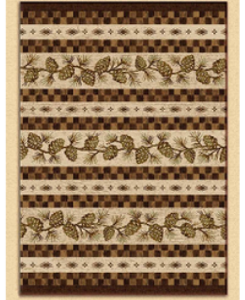 Mountain Pine Cone Carpet - options available