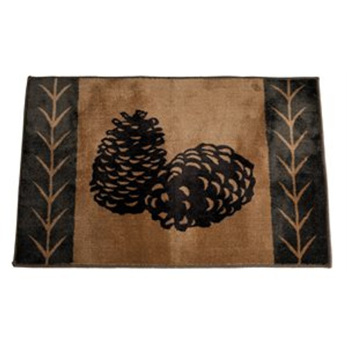 Pine Cone Rug