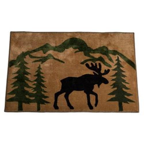 Moose Rug