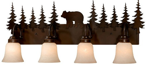 Bozeman Vanity Light - 3 or 4 light