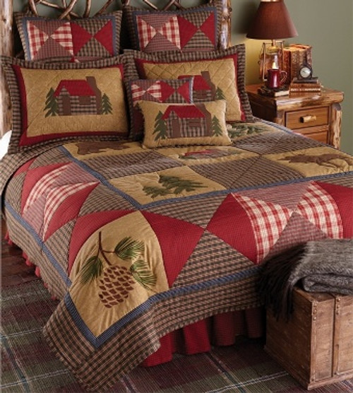 Cabin Design Bedding  - options available