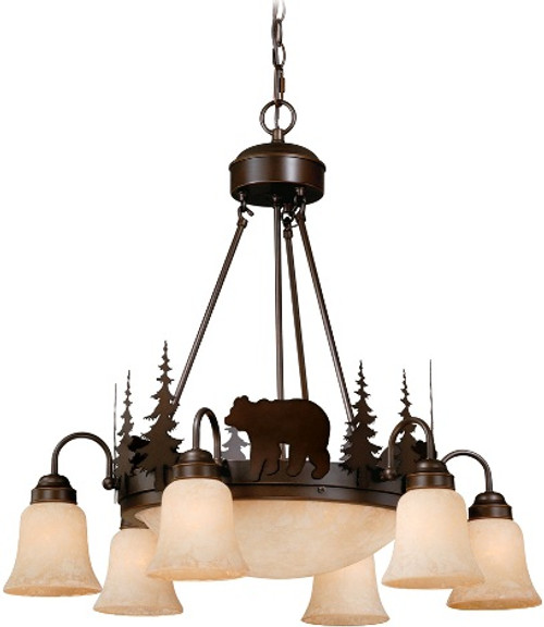 Bozeman 9 light Chandelier