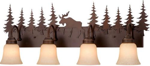 Yellowstone Vanity Light -  3 or 4 light