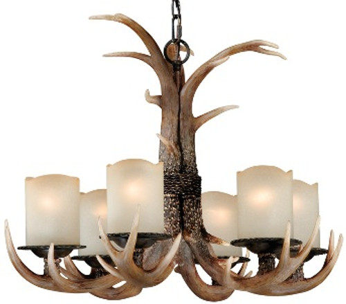Rustic Chandelier - 6  or 3 Light